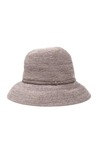 Helen Kaminski Provence 8 Hat in Eclipse Melange