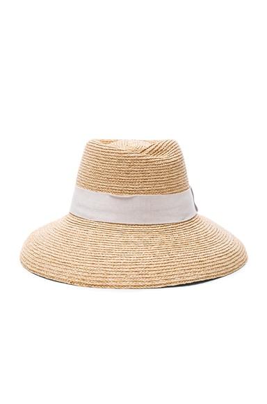 Helen Kaminski Opesa Hat in Natural & Pearl