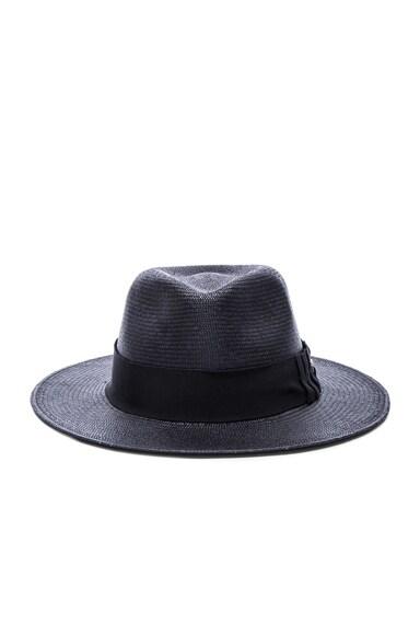Helen Kaminski Lei Hat in Black & Midnight