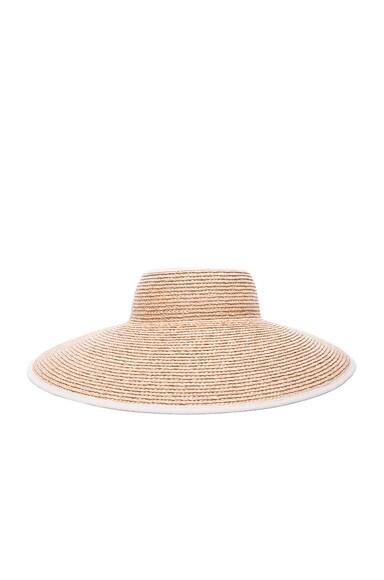Helen Kaminski Mai Hat in Natural & Sand