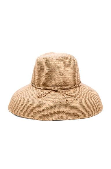Helen Kaminski Provence 12 Hat in Nougat