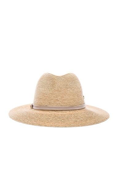 Helen Kaminski Hina Hat in Natural & Mist