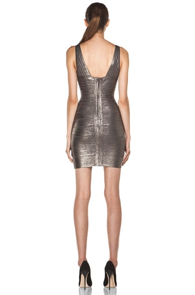 V Neck Mid Thigh Tank Dress