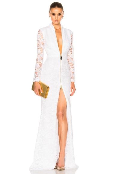 Houghton Lambert Gown in White