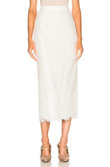 Gwenever Guipure Lace Skirt
