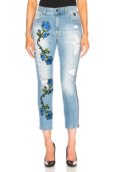 Destroyed Flower Jean