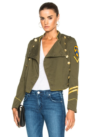 HISTORY REPEATS Giacca Donna History Jacket in Army Green