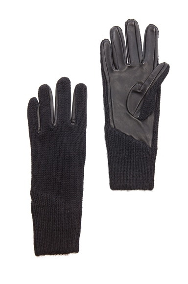Linear Transfer Acrylic-Blend & Leather Glove