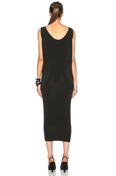 Faint Viscose-Blend Long Dress