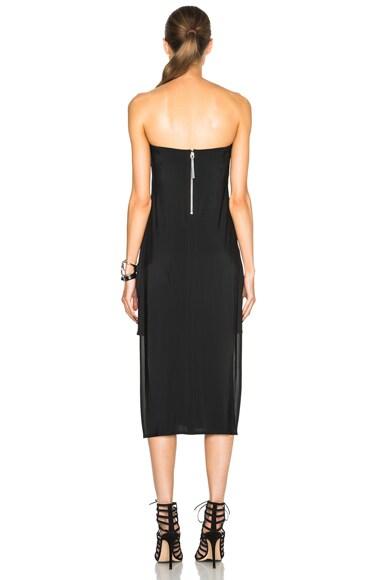 Faint Silk Dress