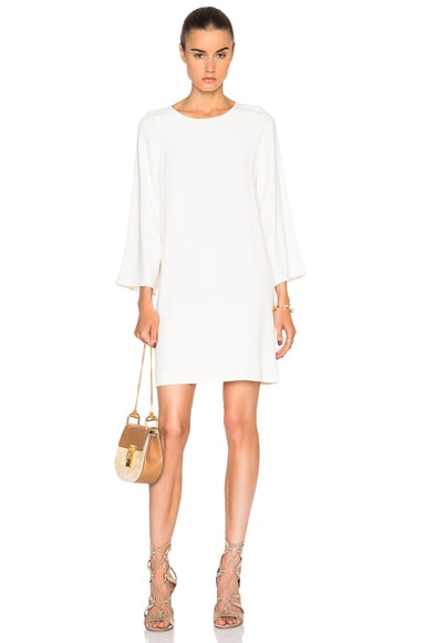 Scooped Shift Dress