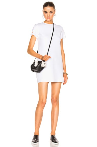 Detachable Cuff Dress