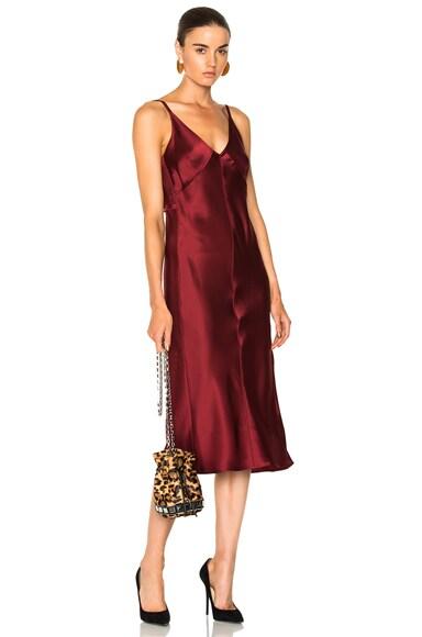 Deconstructed Slip Dress