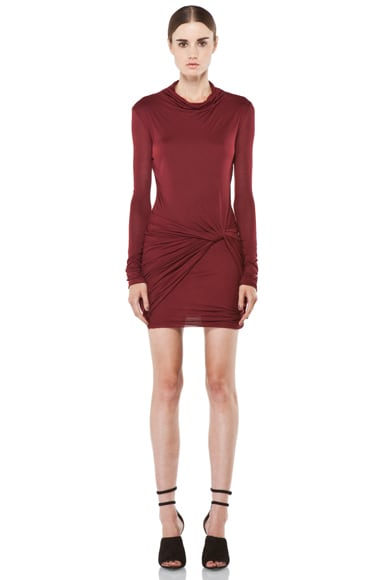 Slack Jersey Long Sleeve Dress