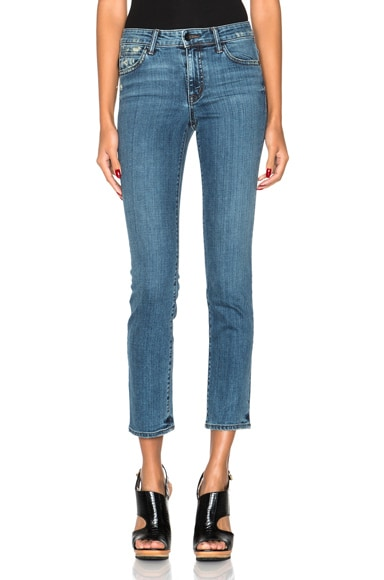 Helmut Lang Ankle Skinny in Light Blue