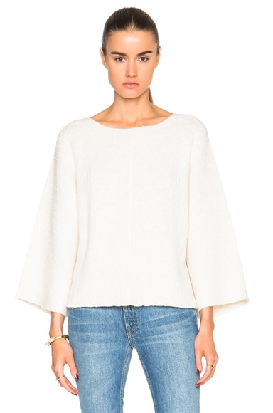 Helmut Lang Pullover Sweater in White