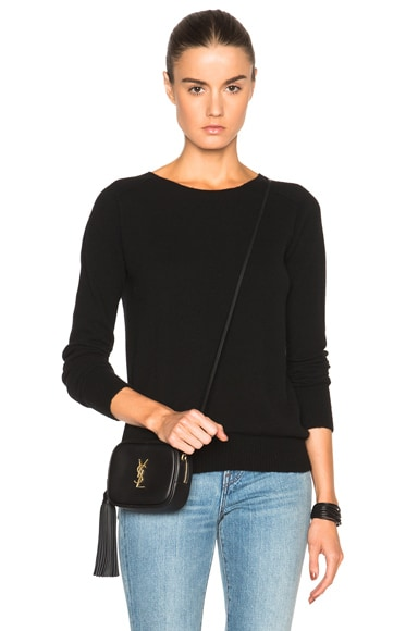 Helmut Lang Cashmere Sweater in Black