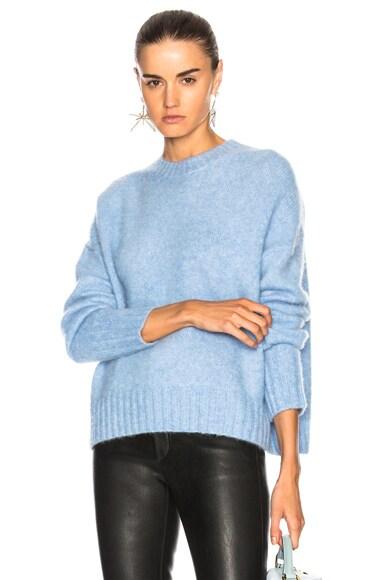 Brushed Crew Sweater