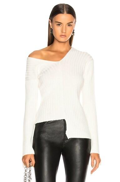 Off Shoulder Longsleeve Sweater