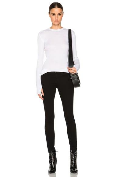 Rib Long Sleeve Sweater