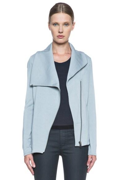 HELMUT Villous Zip Up Rayon Jacket
