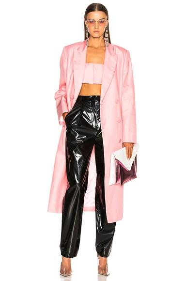 x Shayne Oliver Double Breasted Coat