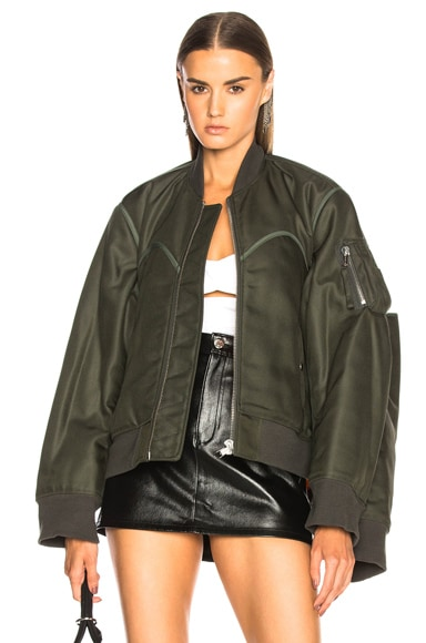 x Shayne Oliver Four Sleeved Bomber Jacket