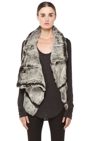Spanish Flux Fur Vest