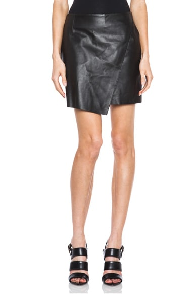 Bonded Leather Skirt