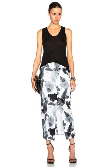 Crypsis Print Skirt