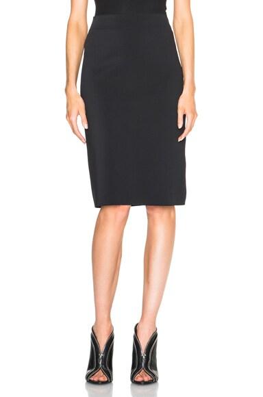 Helmut Lang Scuba Skirt in Black