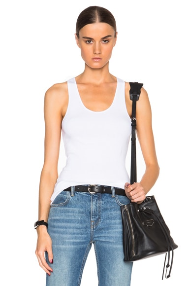 Helmut Lang Tank Top in White