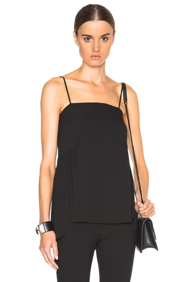 Helmut Lang Spaght Top in Black