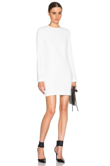 Helmut Lang Straight Fit Top in White