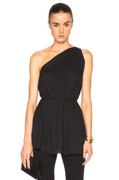 Helmut Lang Asymmetric Top in Black