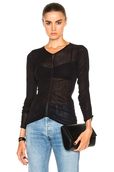 Helmut Lang Long Sleeve Shirt in Black