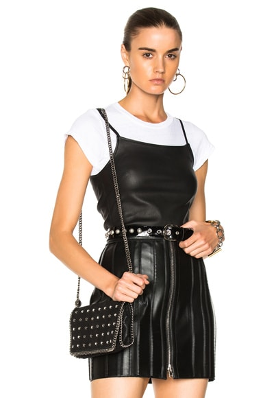 Leather Strap Tank Top