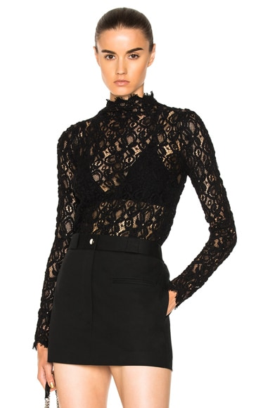 Longsleeve Lace Top