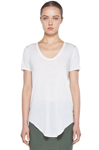 HELMUT Scoop Neck Modal-Blend Tee
