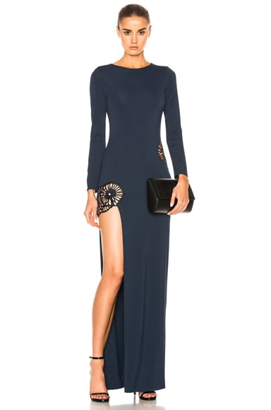 HANEY Gia Dress in Navy