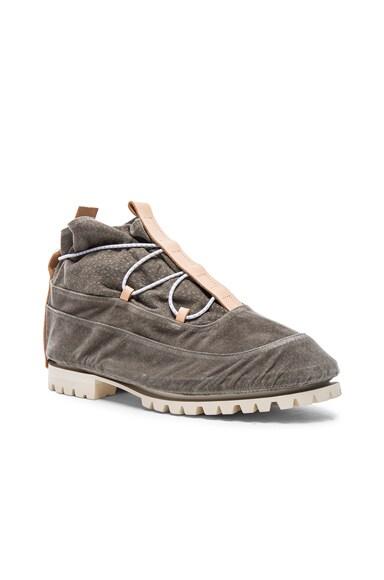 Hender Scheme Samidare Boots in Grey