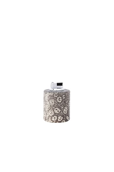 Cylinder Ring Lizard Table Lighter