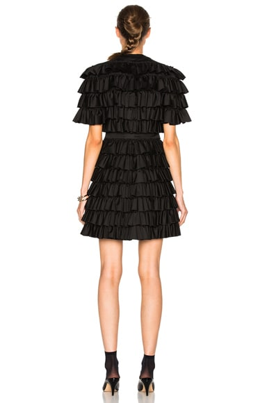 All Over Ruffle Mini Dress