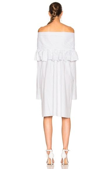 Ruffle Knot Mini Dress
