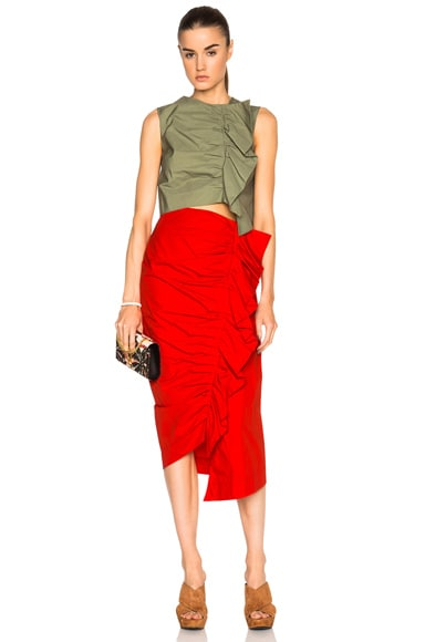 Ruched Up Skirt