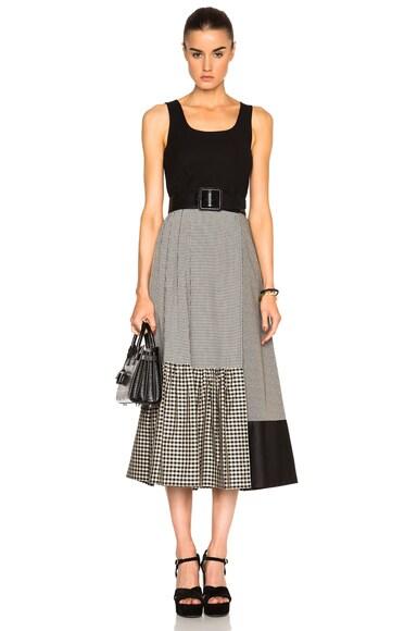 Asymmetric Wrap Skirt