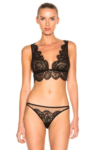 I.D. SARRIERI Soft Cup Triangle Bra in Black