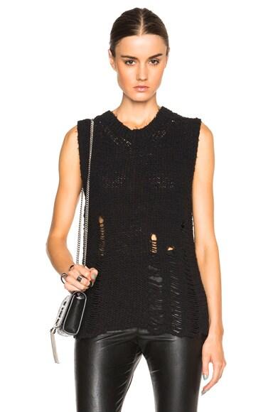IRO . JEANS True Knit Top in Black