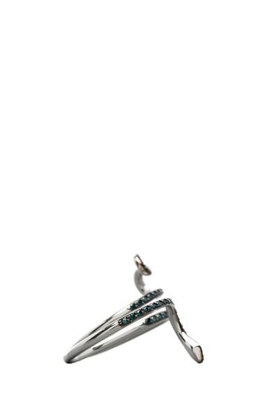 Python Diamond Ring