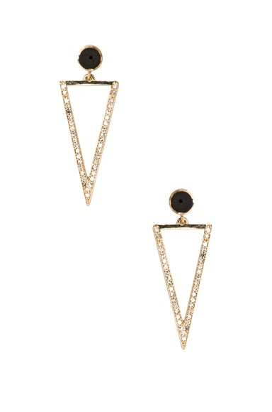 Bermuda Triangle Earring Accents